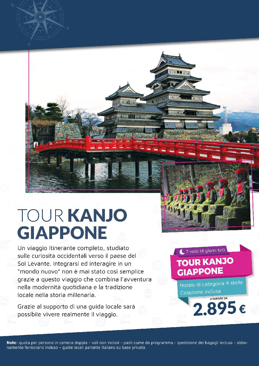 Tour Kanjo Giappone